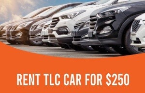 NY TLC CARS (LOWEST PRICE $250/WEEK)