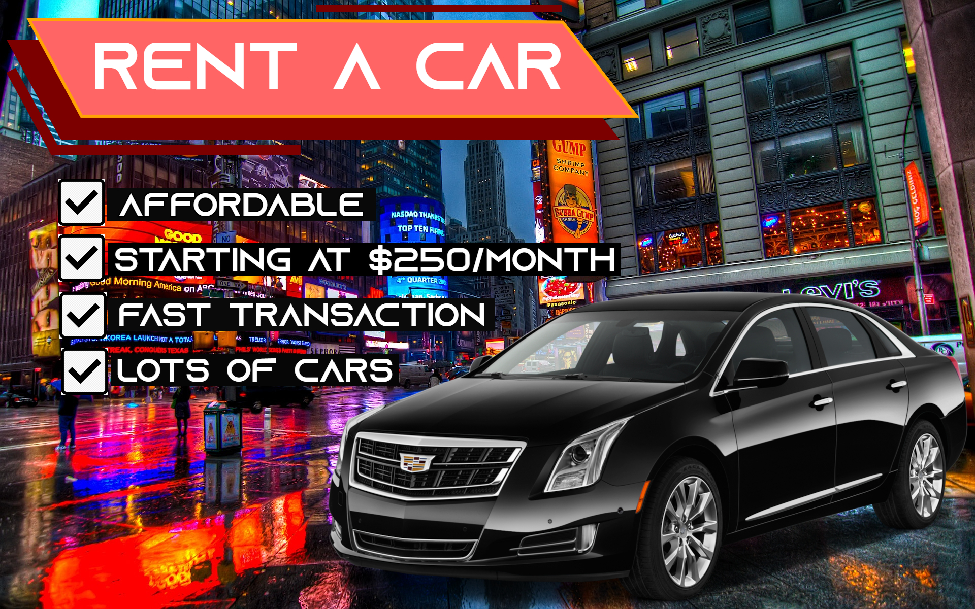 TLC & non-TLC CAR RENTALS!