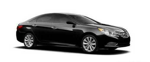 TLC HYUNDAI SONATA 2013 SE BLACK FOR UBER FOR RENT