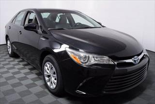 CAMRY HYBRID BLACK on BLACK UBER/TLC READY VEHICLE.