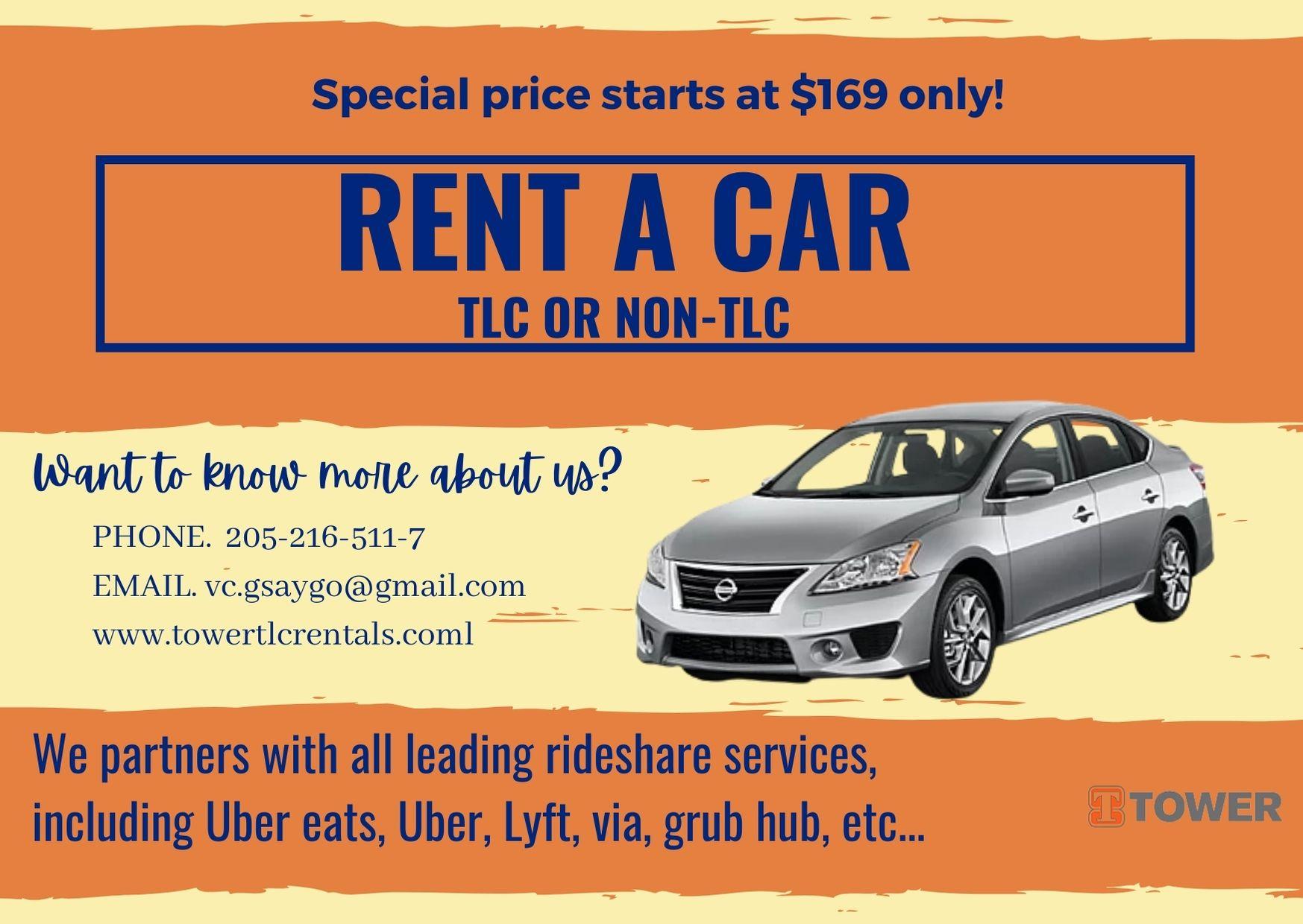 TLC and NON-TLC rentals