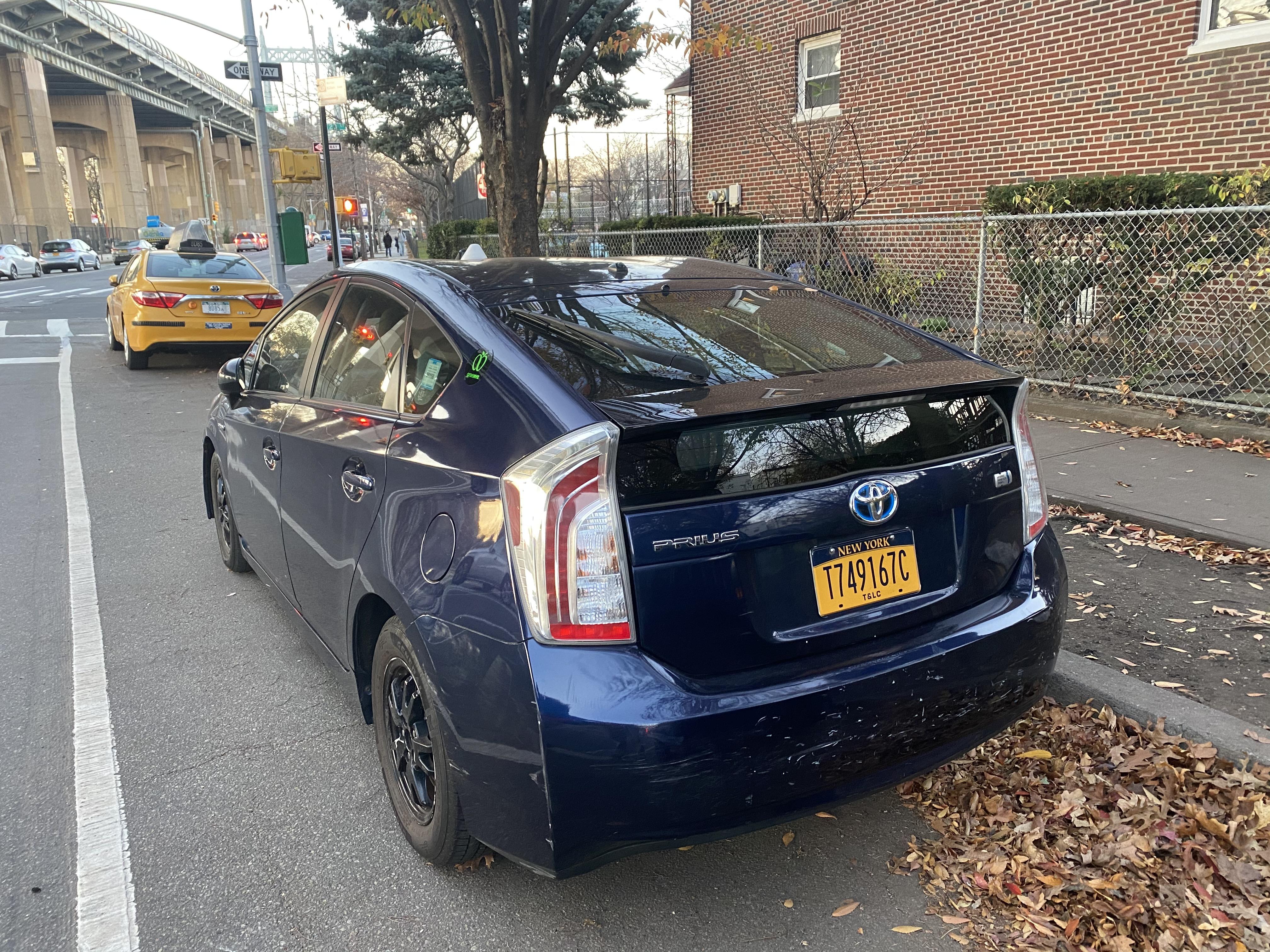 Toyota Prius Hybrid TLC- $275 per week and $50 gas savings
