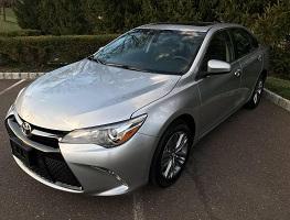 2017 / 2018 Toyota Camry Uber Rental