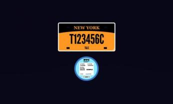 TLC PLATES FOR LEASE