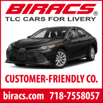 BIRACS LIVERY RENTALS - $275 weekly